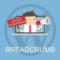 Lexique WordPress : Breadcrumb (fil d'Ariane)