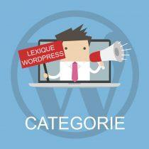 Lexique WordPress : Catégorie