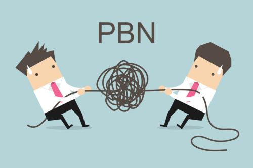 Réseau de site PBN