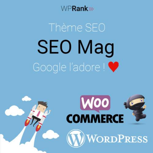 Thème SEO Mag WordPress WooCommerce